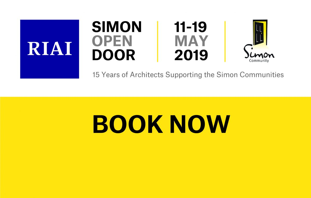 RIAI Simon Open Door 2019- Book Now