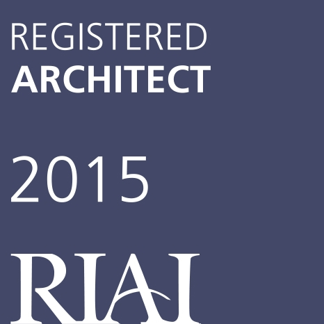 Registered Architect of RIAI 2015