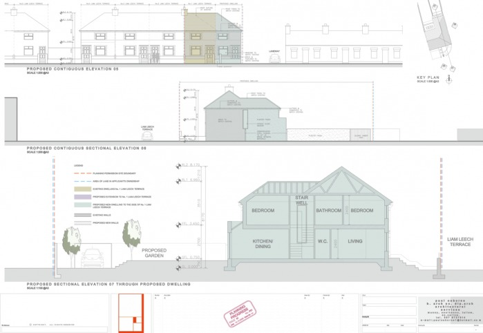 Urban infill project paul osborne architect Urban infill house plans